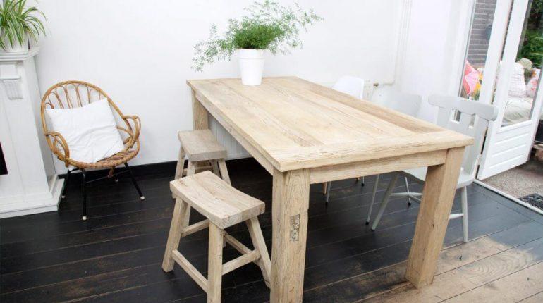 Tafel van hout