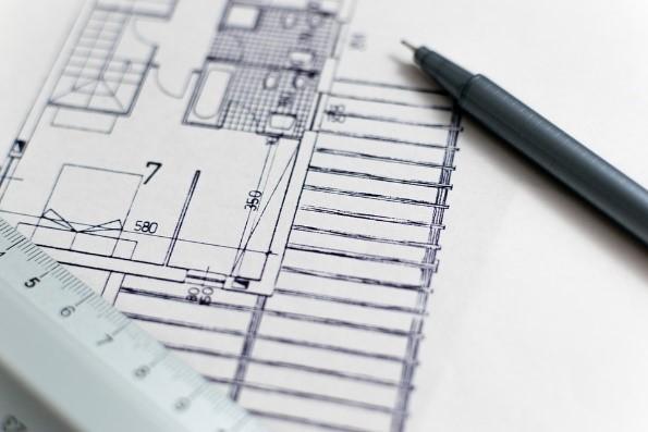 bouw-tekening